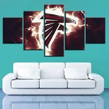 100 Pop Art Home Decor Falcons Football Team Modern Wall Painting Prints