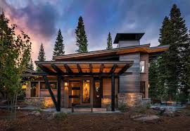 Image Of Modern Cabin House Plans Decoration