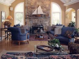 Living Room With Fireplace In The Middle by How To Choose Colour Around A Stone Fireplace Maria Killam The