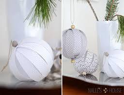 decoration a faire soi meme deco noel diy papier décoration de noël déco écolo