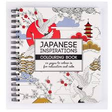 Japanese Inspirations Colouring Book