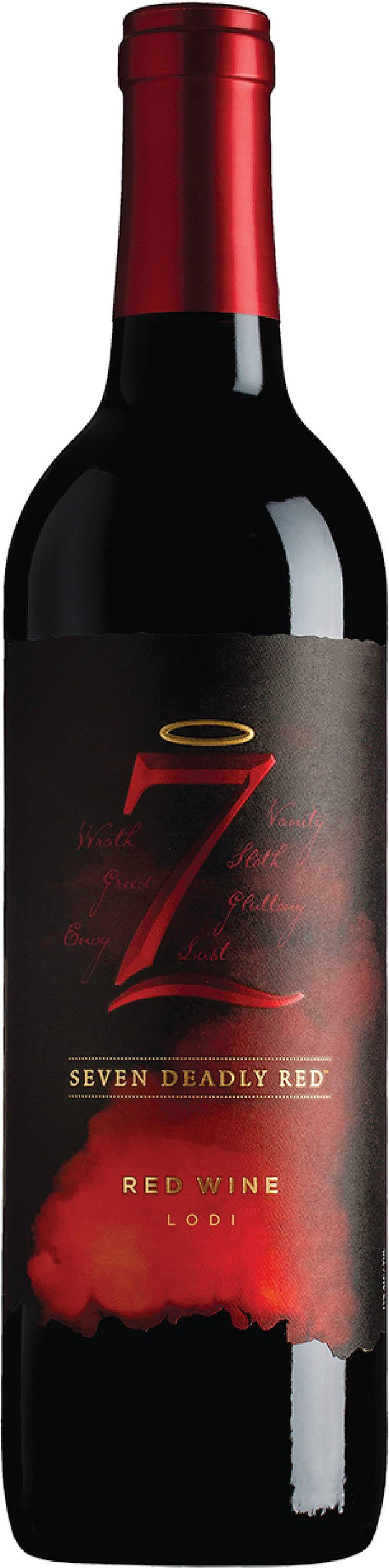 Seven Deadly Red Wine - 750ml