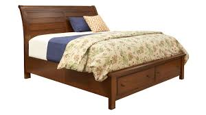 Bassett Upholstered Beds by Rancho Viejo King Storage Bed By Vaughan Bassett