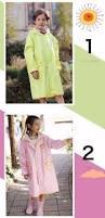 impermeable raincoat for children lovely kids rainwear transparent