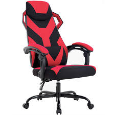 High-Back Office Chair Ergonomic Gaming Chair Racing Fabric Desk Chair  Ergonomic Executive Swivel Rolling Computer Chair With Lumbar Support For  ... Brechin High Back Fabric Executive Chair Lorell Highback Mesh Chairs With Seat Model 3701h Back Fabric Chair Llr86200 Highback 1 Each Global Accord Tilter 26704 Grade Hino Without Arms Black Hon Exposure Task 5star Base 19 Width X 2150 Depth 268 255 425 Dams Tuscan Managers Office Tus300t1k Swivel Wing Fireside Armchair Bmoral Duck Egg Blue Check Ps Upholstered Ding Room Nordic