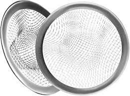 ofxdd pop up haarfänger 7 6 cm spülbeckensieb edelstahl haarverstopfung abflussschutz badezimmer abfluss haarfänger netz