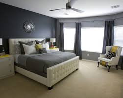 Simple Decoration Grey And White Bedroom Modern Bedrooms