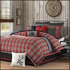 Lodge Cabin Log Themed Bedroom Decorating Ideas