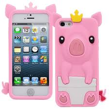 Amazon Generic Cute Fancy 3D Silicone Protective Pig Case