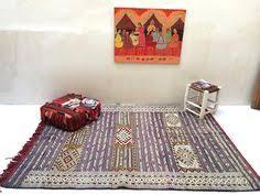 Kilim Rug 5x8 Boho Tribal Ethnic Rustic Decor Area