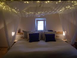 Curtain Over Bed Interior Design