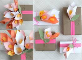 This Tutorial Will Teach You Learning To Make A Bouquet Of Calla Lilies With Tinted Document