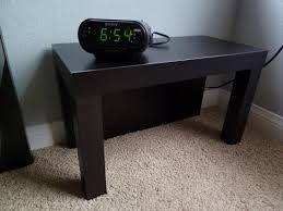 Lack Sofa Table As Desk by Lack Nightstand Ikea Hackers Ikea Hackers