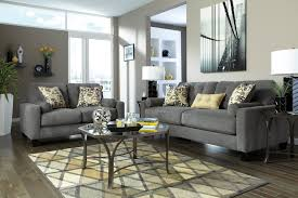wondrous charcoal sofa set feat iron coffee table on area rugs as
