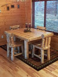 Dining Room Forest Log Furniture