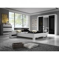 chambre gris noir et blanc chambre à coucher complète moderne design et tendance couleur