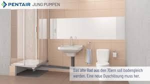 die bodenablaufpumpe plancofix macht barrierefreie duschen im altbau möglich
