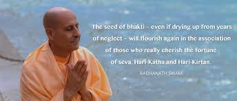 The Seed Of Bhakti Even If Drying Up From Years Neglect Will Flourish