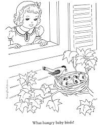 Animal Coloring Book Page