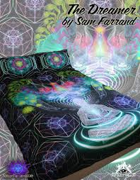 Trippy Bed Sets by Dreamtime Bed Set Mindcradle