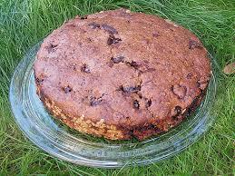 sauerkirsch schokoladen haferflocken kuchen