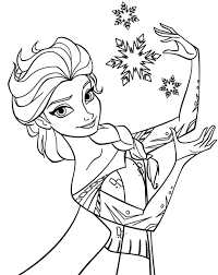 Princess Coloring Pages Online Printable Disney Colouring Free Print Aurora Interesting Pictures Frozen Queen Full