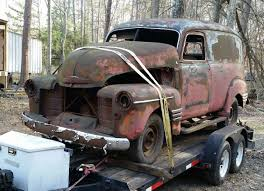 100 Truck From Jeepers Creepers Creepers RATS Chevy Trucks Abandoned Cars