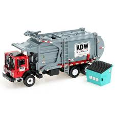 100 Waste Management Garbage Truck Amazoncom Duturpo 143 Scale Diecast Collectible