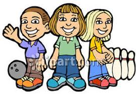 Bowling Royalty Free Clipart Picture
