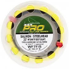 cortland 333 pro salmon steelhead 20 sink tip fly fishing line