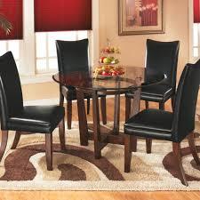 100 Black Leather Side Dining Chairs Ciera Set Jennifer Furniture