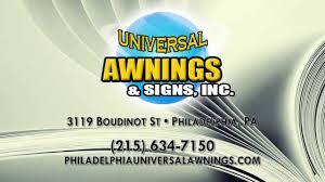 Signs In Philadelphia PA, Universal Awnings & Signs, Inc. - YouTube Windows Awning Replacement Pladelphia Pella And Doors Retractable Awnings Majestic New Jersey Readmetro Edition 170620 Usa Italian Market Editorial Photography Image 75627647 Jefco Signpros Outdoor Ding Cover Restaurant Signs Beautiful Storefront Signs Commercial Nyc Bar Rollup Brooklyn 2017 Cost Calculator Pennsylvania Manta