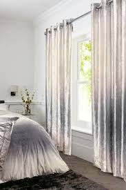 Dkny Modern Velvet Curtain Panels charming grey ombre curtains and ombre blue grey vintage cotton