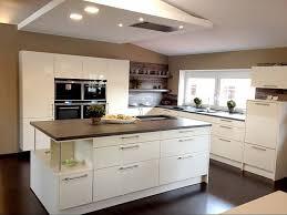 av 4030 magnolie hochglanz lack klassische küche mit insel