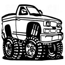 100 Monster Truck Decals Offroad 883 Decal Sticker