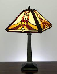 Quoizel Tiffany Lamp Shades by Table Lamps Mission Table Lamps Mission Style Table Lamp Shades