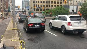 rideau partially reopens to traffic nearly 3 weeks after