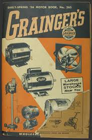 This Is An Original Graingers Catalog Early Spring 56 Motor Book No 265 From 1956 Fully Illustrated Not Only Contains Motors But Also Tools