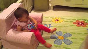 Baby Likes Pottery Barn Chair - YouTube 17 Pottery Barn My First Anywhere Chair How To Re Cushion Foil Star Kids Ca For Half The Price Refunk Junk Home Interior Design Baby Fniture Bedding Gifts Registry Vs Decoration Capvating Chairs 85 For Comfortable Margherita Missoni