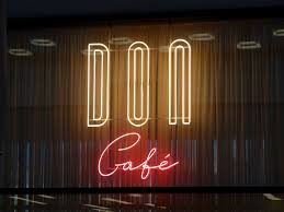 100 Don Cafe Caf Neon Sign Fonts In Use