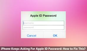 iPhone Keeps Asking For Apple ID Password How to Fix This