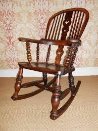 Wayfair Rocking Chair Uk by Victorian High Back Windsor Rocking Chair 304225