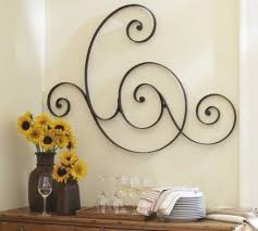 Pottery Barn Metal Wall Decor by Scrolling Gate Wall Art Pottery Barn Home Decor Favorite For