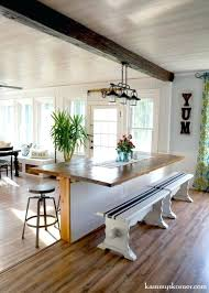 Diy Dining Tables Room Table Projects Built In Breakfast Bar Creative Do