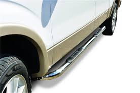 3 In. Round Classic Side Bars, Big Country Truck Accessories, 374884 ...