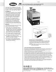 Hatco Heat Lamp Colors by Fr Food Rethermalizers Bain Marie Heaters Hatco Pdf