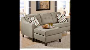 Ashley Hodan Microfiber Sofa Chaise by Left Sectionals Sofa Youtube