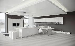 designer corian küche mit kochinsel modern offen und