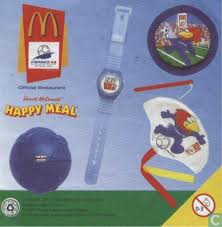 Mcdonalds Halloween Pails Ebay by Mcdonalds Happy Meal Toy France 98 World Cup Football Timer Ball