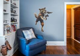 Fathead Baby Wall Decor by Rocket Raccoon Wall Decal Shop Fathead For Guardians Of The